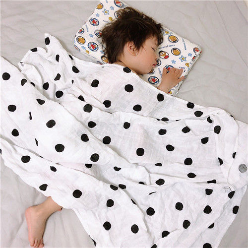 Cotton Muslin Receiving Blankets 100 Percent Hypoallergenic Cotton Six Layers